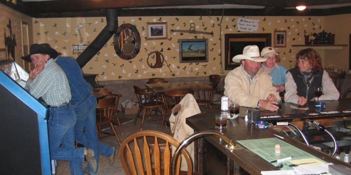 Cowboys al bar