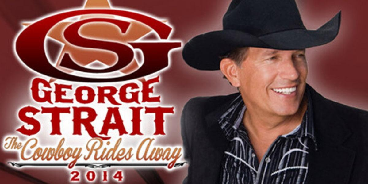 George Strait – The Cowboy Rides Away