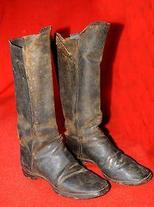 Un paio di stivali della Guerra Civile, 1860 ca.