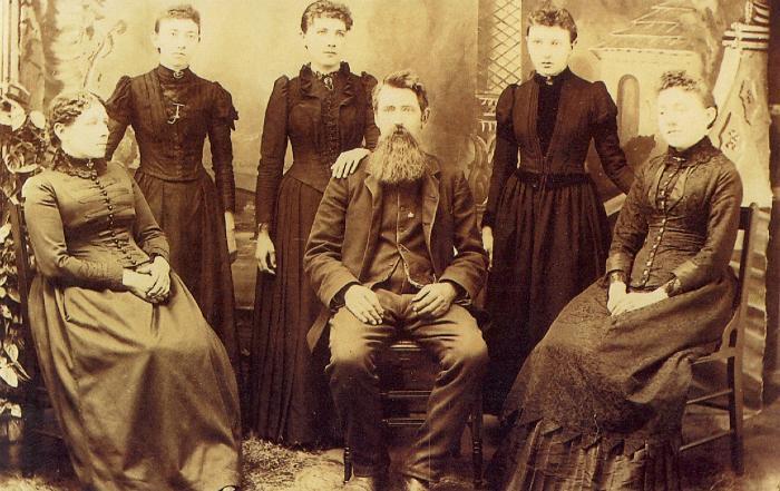 Donna di Frontiera, La famiglia Ingalls
