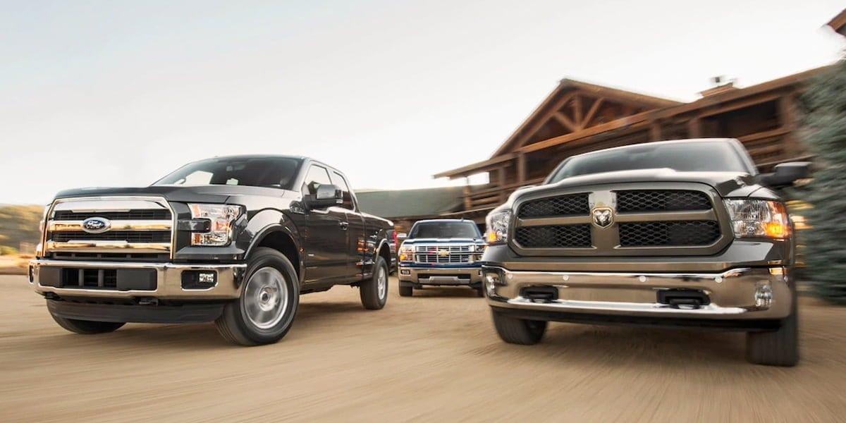 I 10 pick-up più venduti negli USA