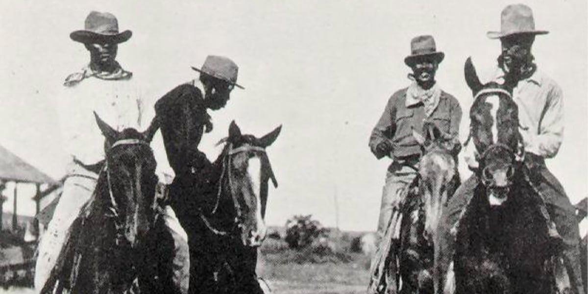 african cowboy Bunk Haynes