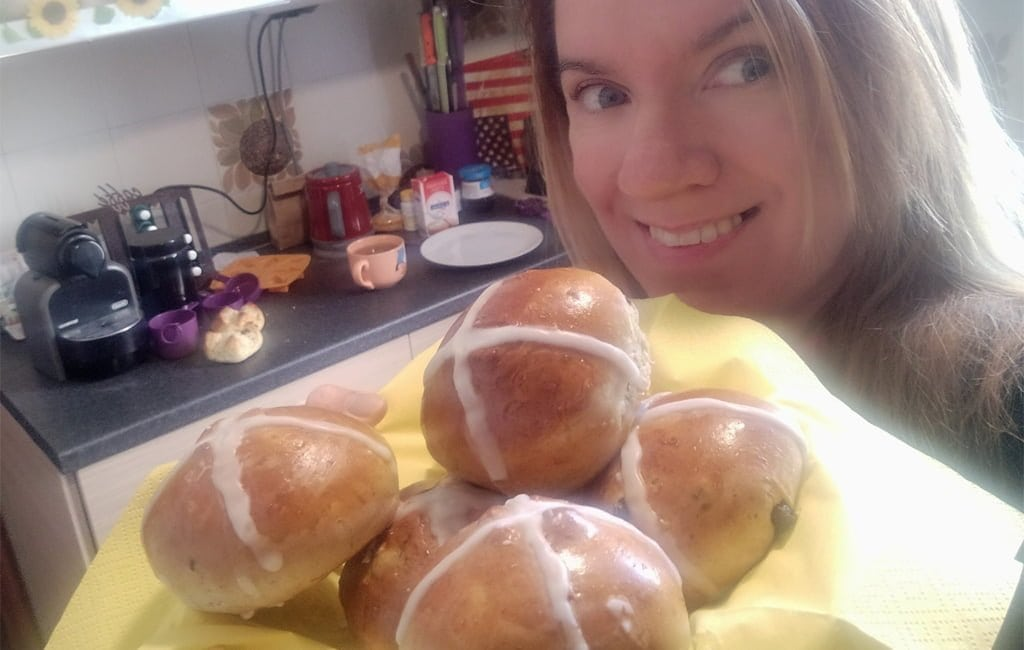 Happy Easter - Hot Cross Buns