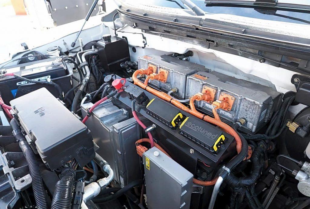 Motore elettrico pickup