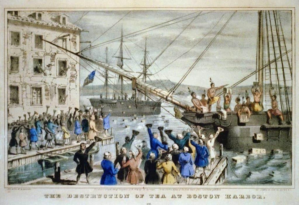 Western Heritage Boston Tea Party