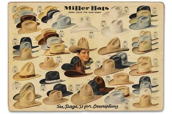 Western Heritage Miller hats