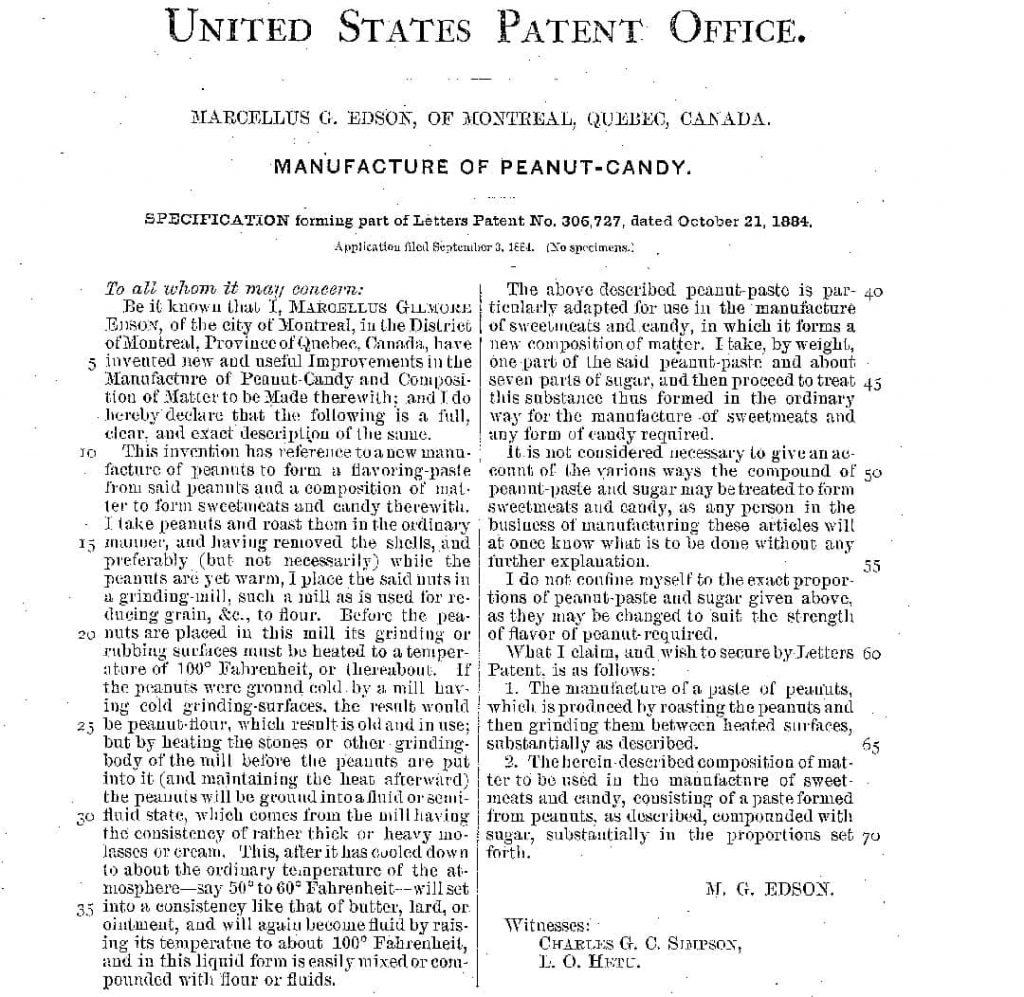 Western Heritage brevetto edson 1884