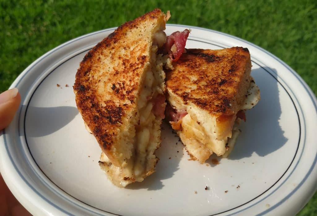 Western Heritage elvis sandwich