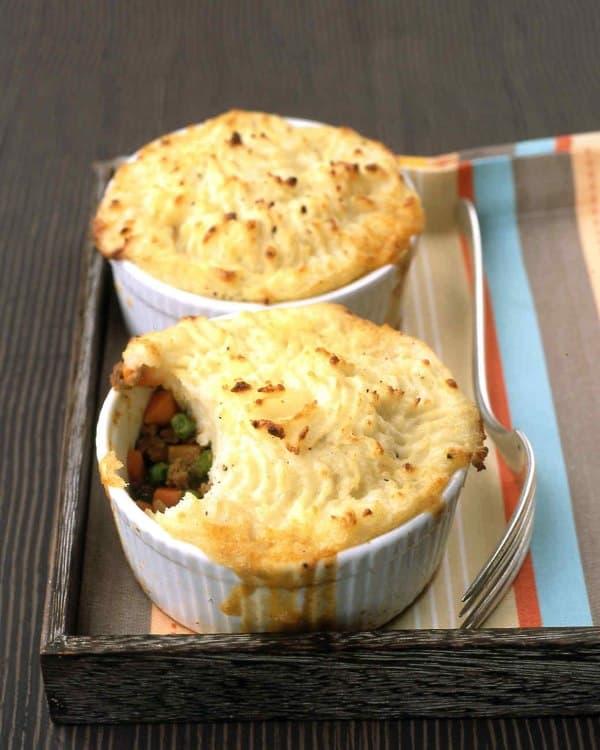Shepherd's pie purè