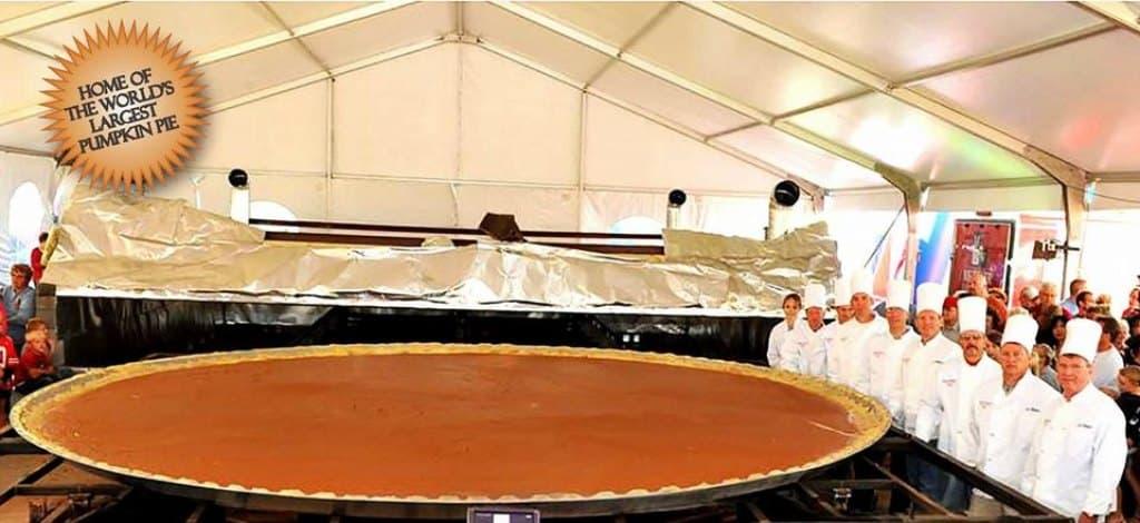 western heritage torta di zucca più grande della storia