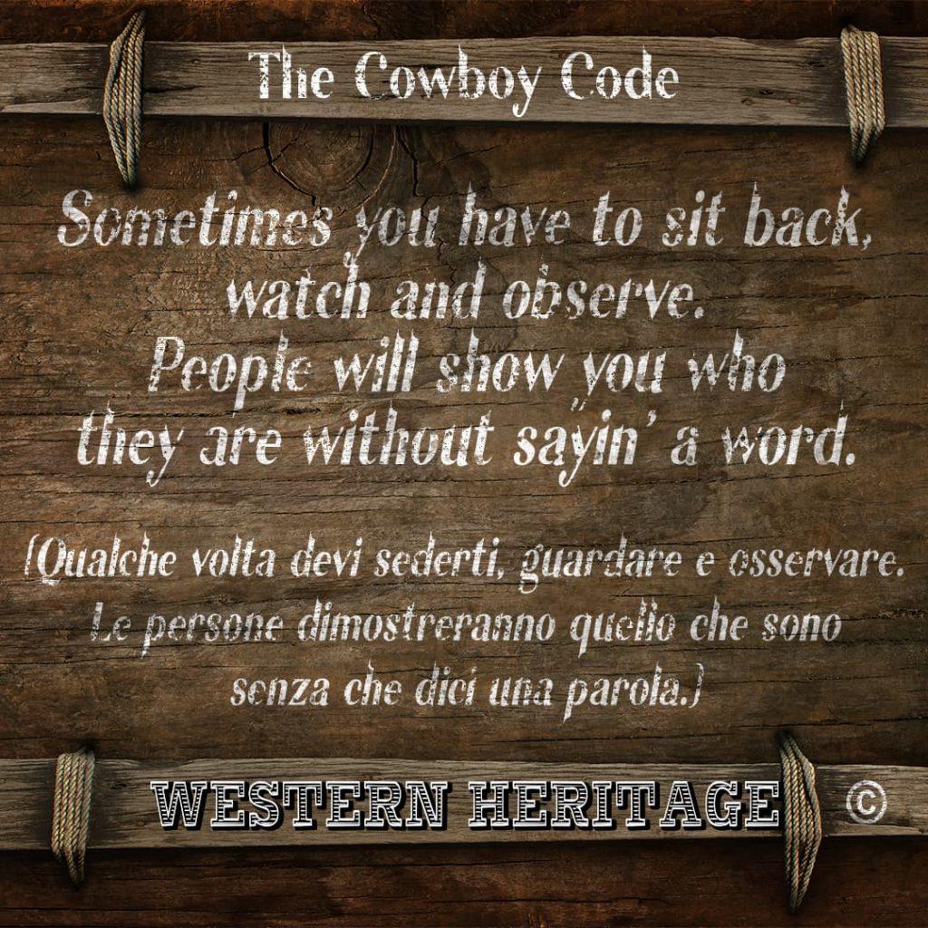 The Cowboy Code #2