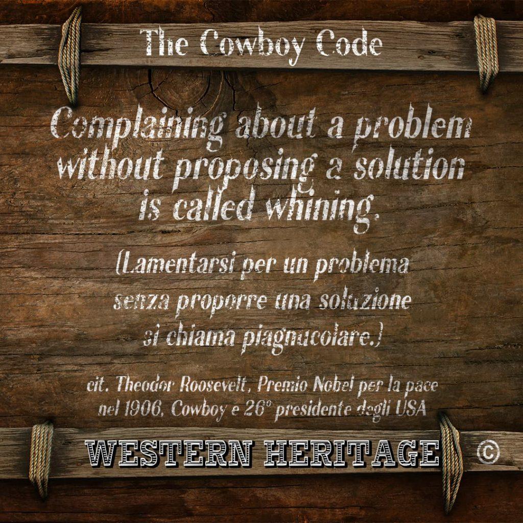 The Cowboy Code #3