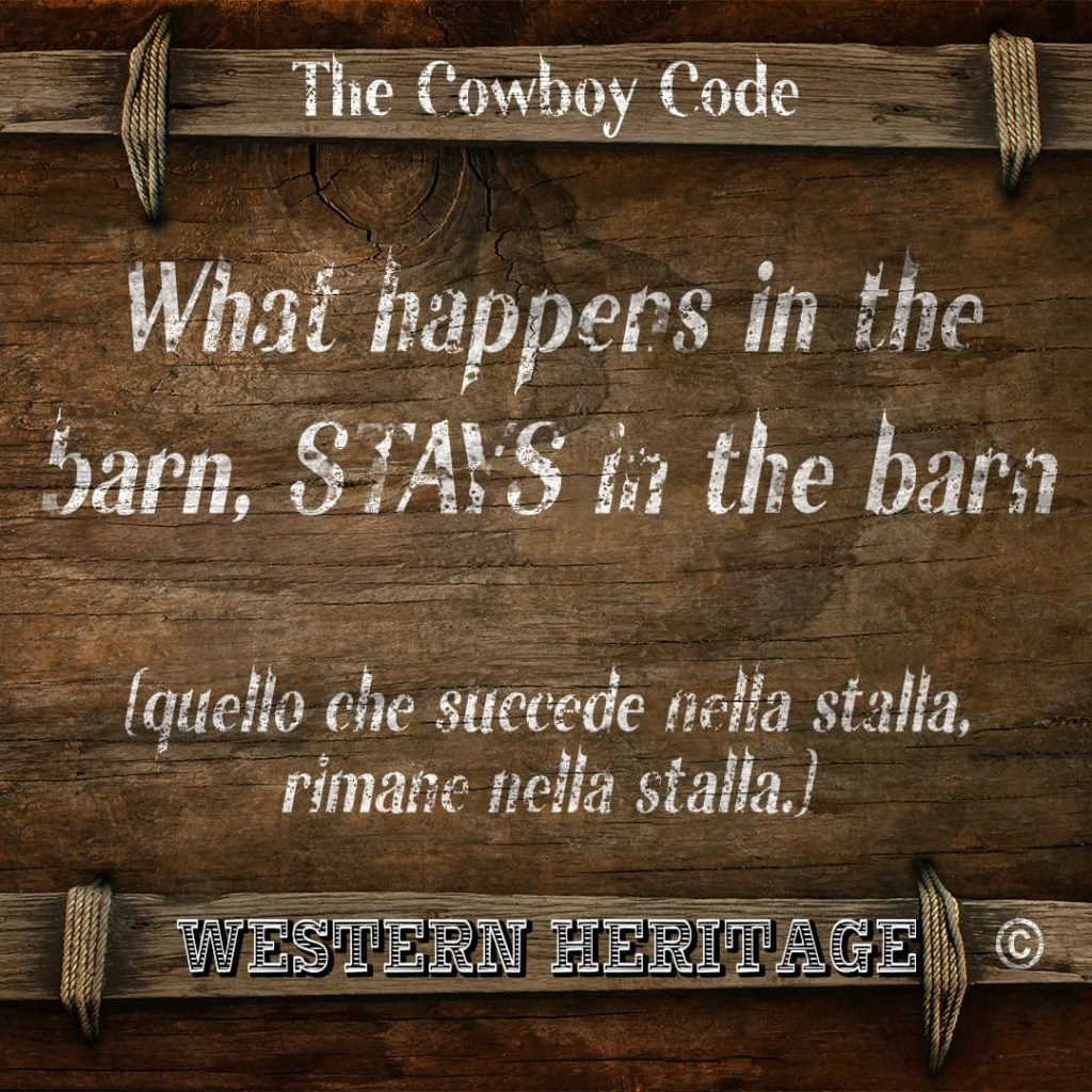 The Cowboy Code #6