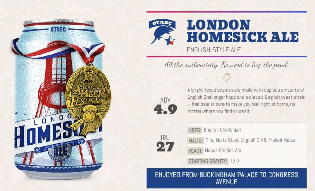 london homestick ale