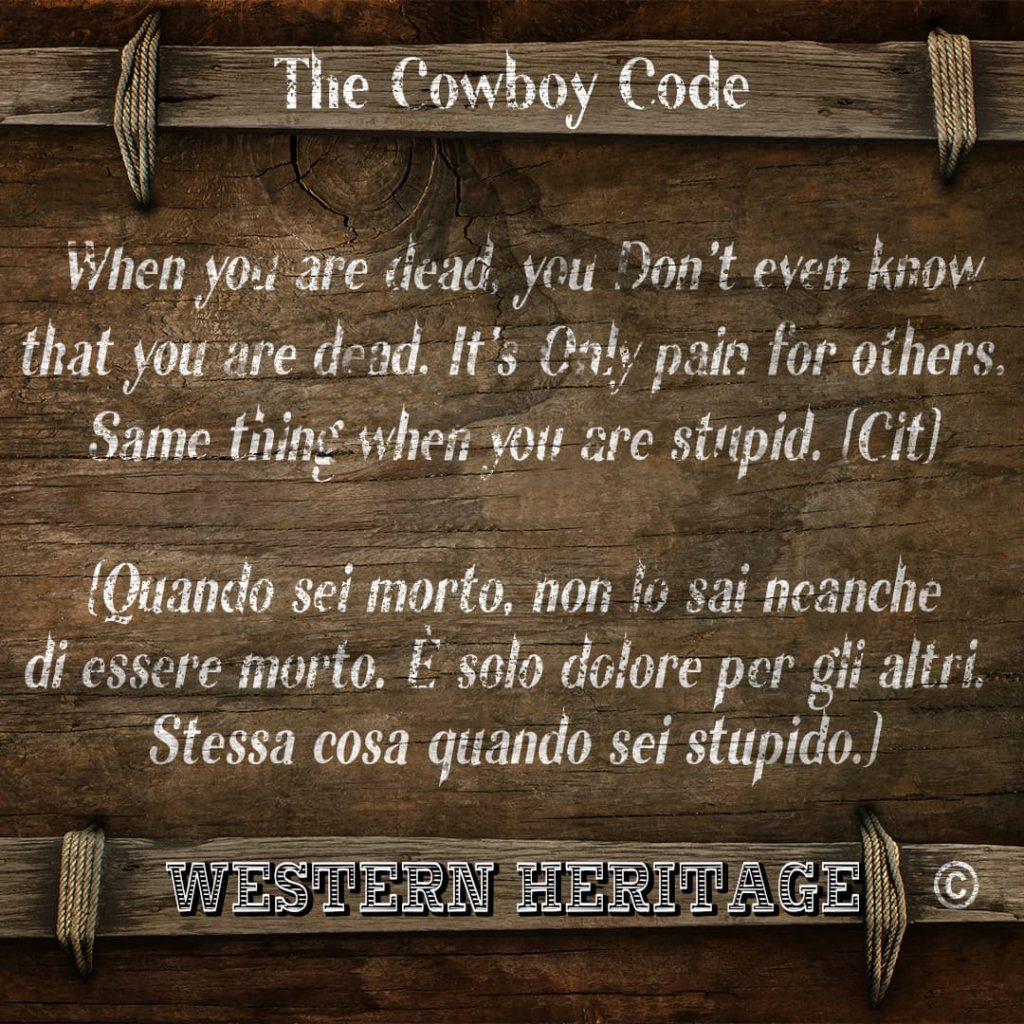 The Cowboy Code #8