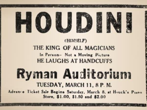 western heritage Houdini