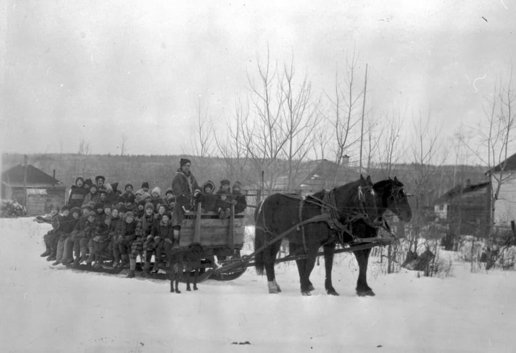 Natale sulla slitta a Fort Murray