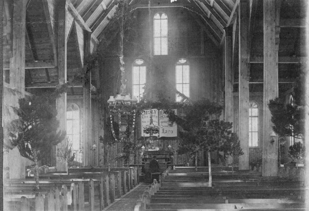 western heritage Interior of Metlakahtla