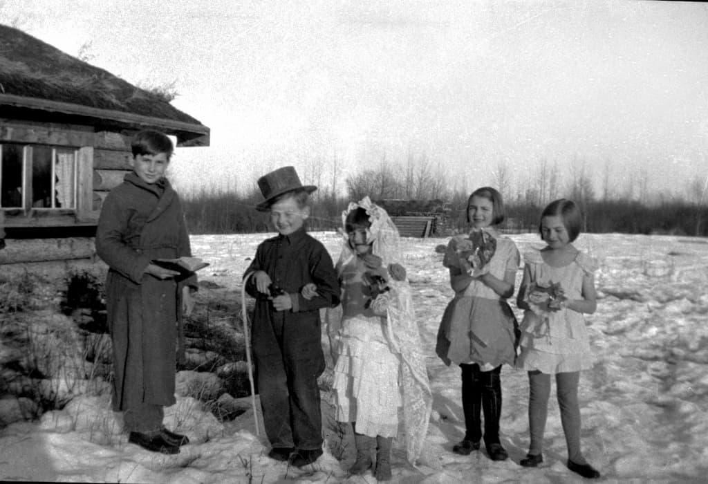 scolari cantano per Natale, Lubeck 1930