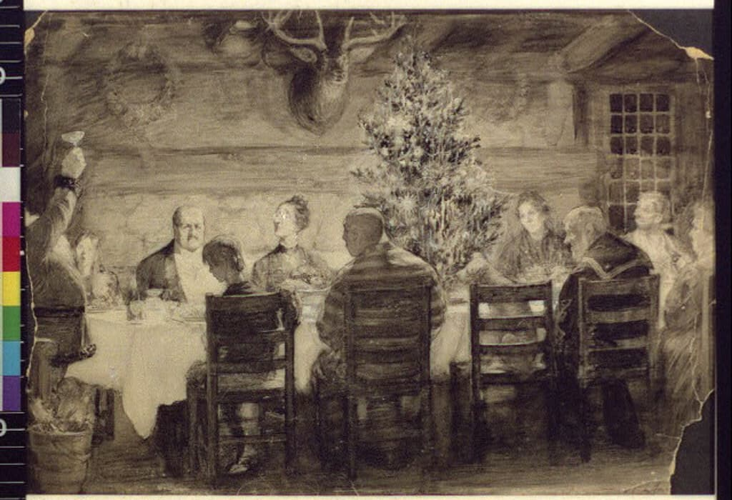 western heritage cena di Natale Library Of Congress