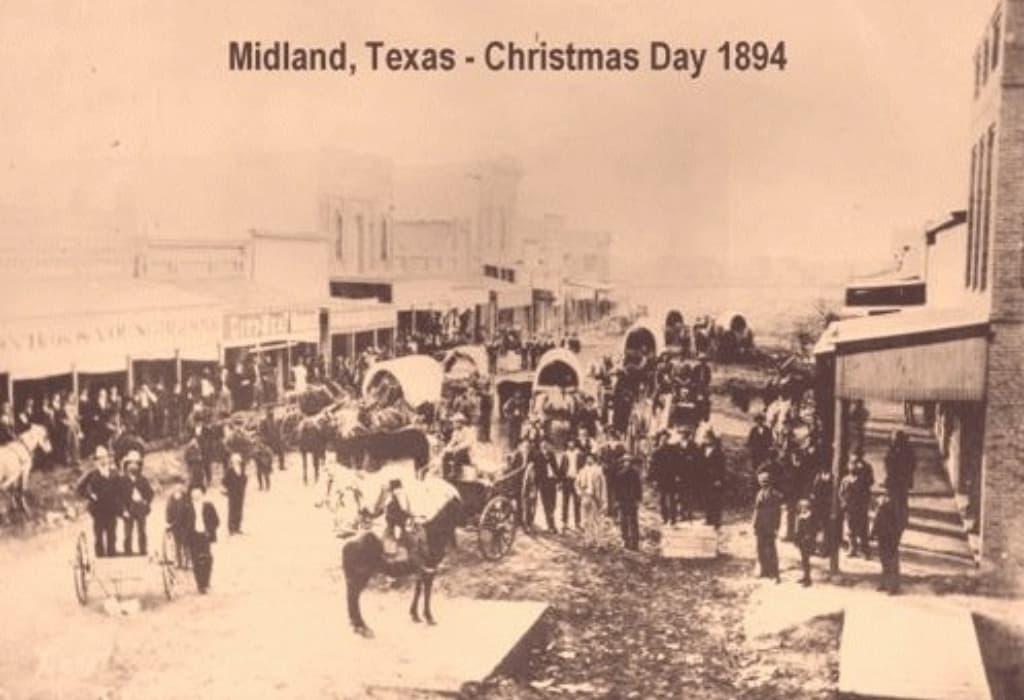 Mattina di natale a Midland, Texas, 1894