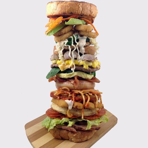 wh alphabet burger