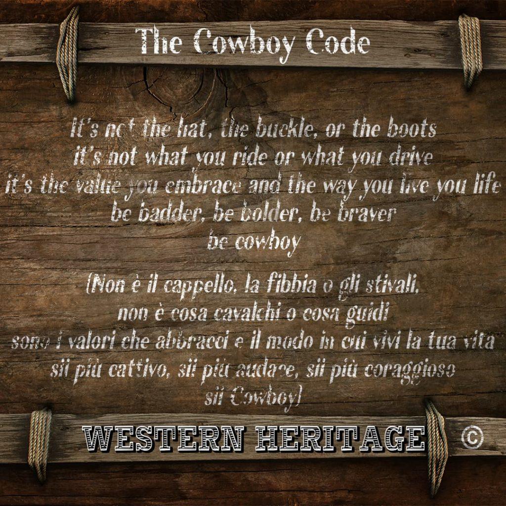The Cowboy Code #10