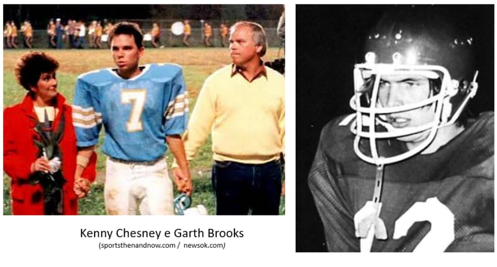 Kenny Chesney football garth brooks western heritage