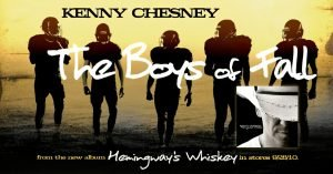 kenny chesney the boys of fall western heritage